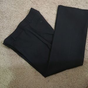 Black curvy fit petite trouser